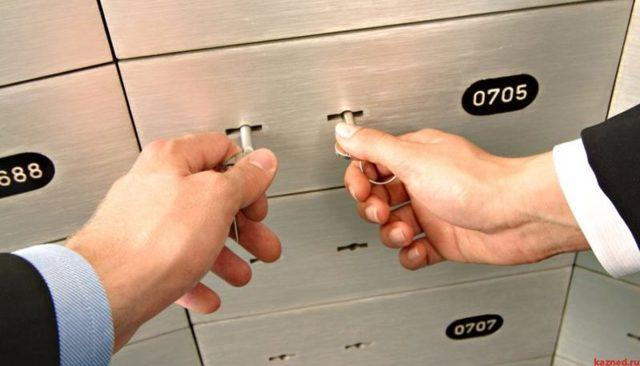 Банковская ячейка при расчетах с недвижимостью: аренда в Сбербанке